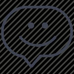 communication, emoticon, emotion, expression, face icon
