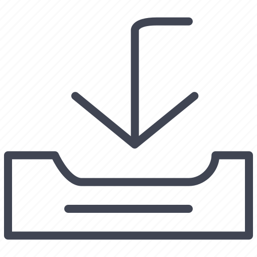 communication, email, envelope, incoming, mail icon