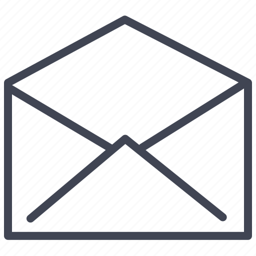 communication, email, mail, message, read icon