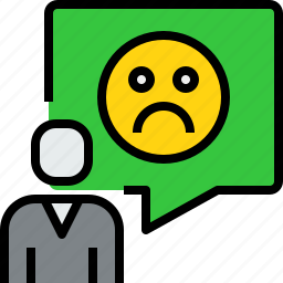 chat, communication, dialog, emotion, message, people icon