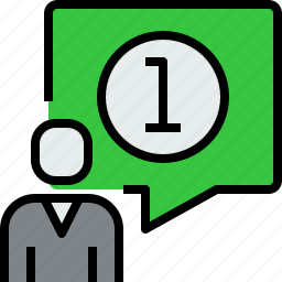 chat, communication, dialog, message, people icon