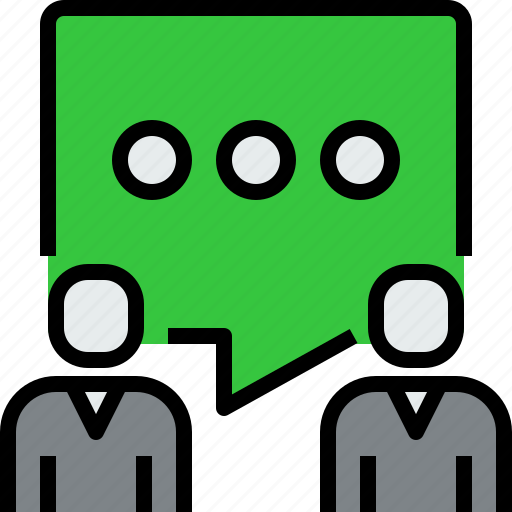 chat, communication, dialog, message, people, talk icon