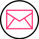 email, envelope, internet, mail, online, web icon
