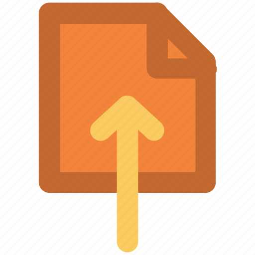 arrow, file upload, up arrow, upload file, uploading icon