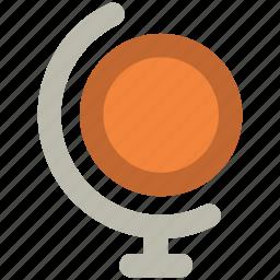 earth, global, globe, sphere, table globe, world, world map icon