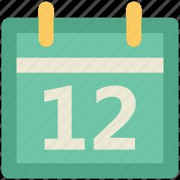 calendar, calendar date, day, event, schedule, time icon