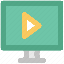 lcd, media player, multimedia, player, screen, video, video player icon
