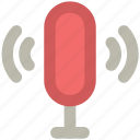audio, mic, microphone, recording, retro, studio mic icon