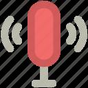 audio, mic, microphone, recording, retro, studio mic