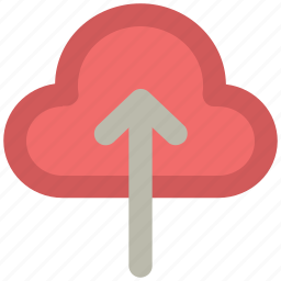 cloud, cloud computing concept, upload, uploading icon