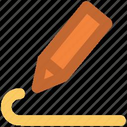 design, draw, education, pencil, pencil tool, sketch, write icon
