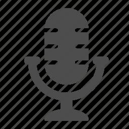 audio, communication, microphone, radio microphone, sound icon
