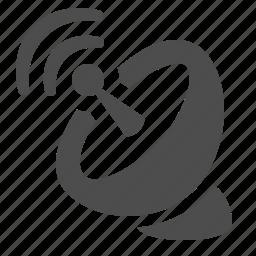 antenna, communication, dish, satellite, satellite dish, wireless icon