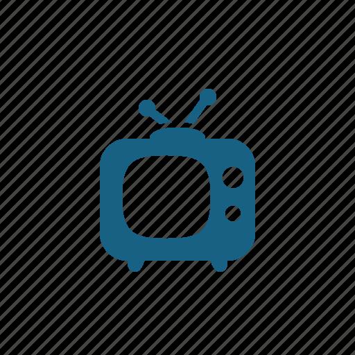 television, television set, tv icon