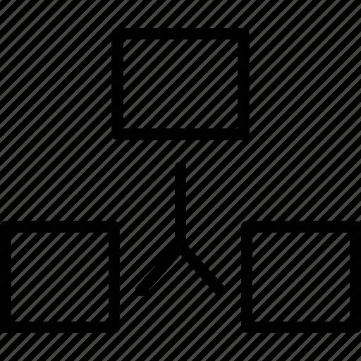 app, broadcast, hierarchy, sitemap icon