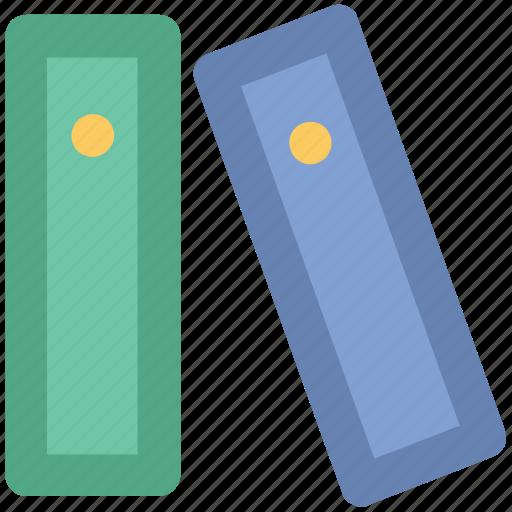 archives, binders, file folders, files, folders, office documents icon