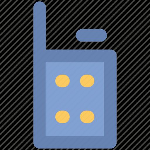 Communication, cordless phone, intercom, police radio, radio transceiver, walkie talkie icon - Download on Iconfinder