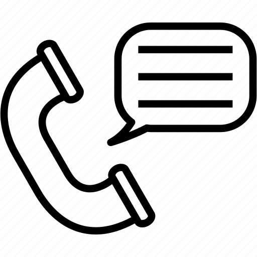 communication, message, telephone icon
