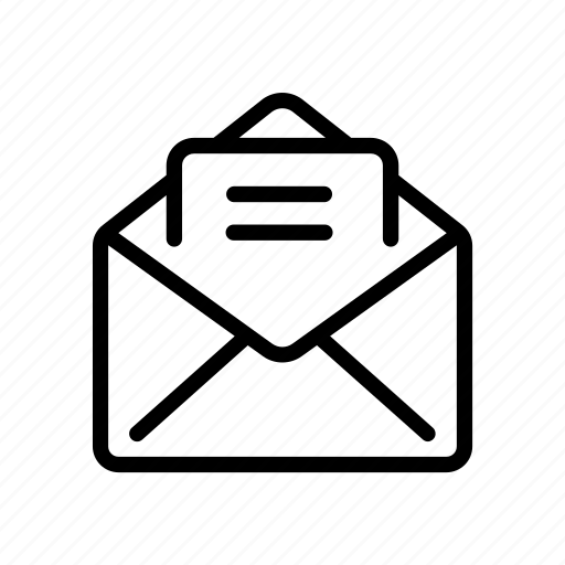 communication, connection, email, inbox, letter, mail, message icon