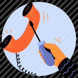 communication, maintenance, configuration, settings, preferences, options, call, phone, voice