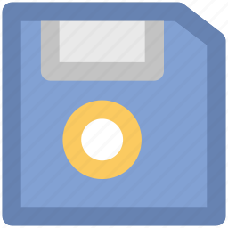 diskette, floppy, floppy disk, floppy drive, storage device icon