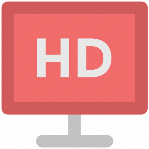 broadcast, electronics, hd screen, multimedia, technology, television, widescreen icon