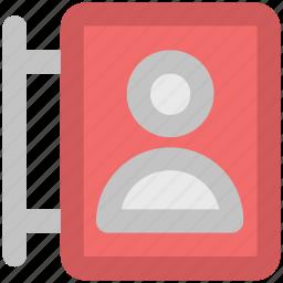 display, internet, mobile, online activity, profile, user icon