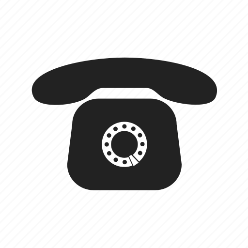 call, communication, old, phone, talk, telephone icon