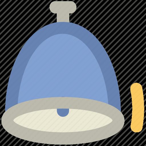alarm bell, alert, bell, buzzer, christmas bell, church bell, school bell icon
