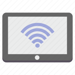 connection, ipad, network, signal, tablet, wifi, wireless icon