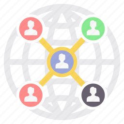channel, connection, link, links, media, network, social icon