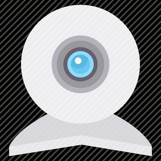 camera, cctv, footage, live, record, recording, video icon