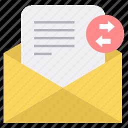 envelope, inbox, mail, receive, receiving, send, sending icon