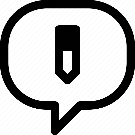 bubble, business, communication, message, speech, talk, write icon