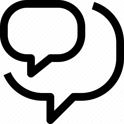business, communication, message, talk icon