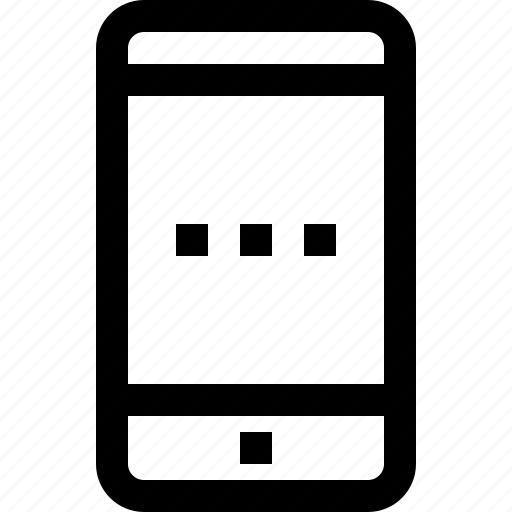 business, communication, device, message, smartphone, talk icon