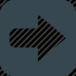 arrow, arrows, direction, move, navigation, next, right icon