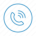 communication, contact, message, phone call, talk icon