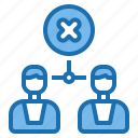 corporate, disagreement, information, meeting, office, people, teamwork icon