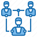 corporate, information, meeting, network, office, people, teamwork icon
