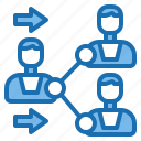corporate, information, meeting, office, people, share, teamwork icon