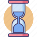 deadline, hourglass, time, timing icon