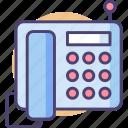 hotline, landline, phone, telephone icon