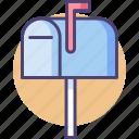 inbox, mailbox