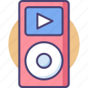 mp4, music, music player, player icon
