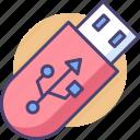 pendrive, thumbdrive icon