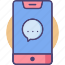 call, calling, messaging, phone icon