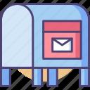 inbox, mailbox, postal, service