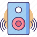 loudspeaker, music, sound system, speaker