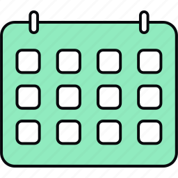 appointment, calendar, schedule, timetable icon